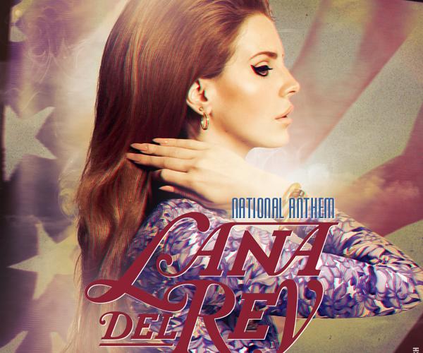 Vinyl Cut Prose National Anthem Lana Del Rey Bourgeoisie Rebel